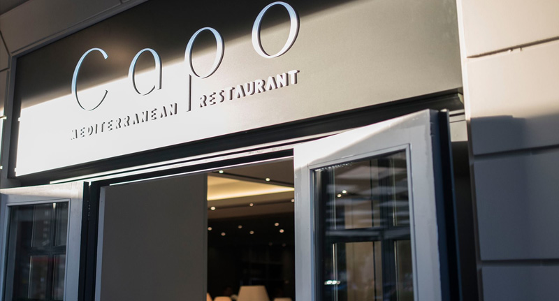 Резултат с изображение за capo ресторант